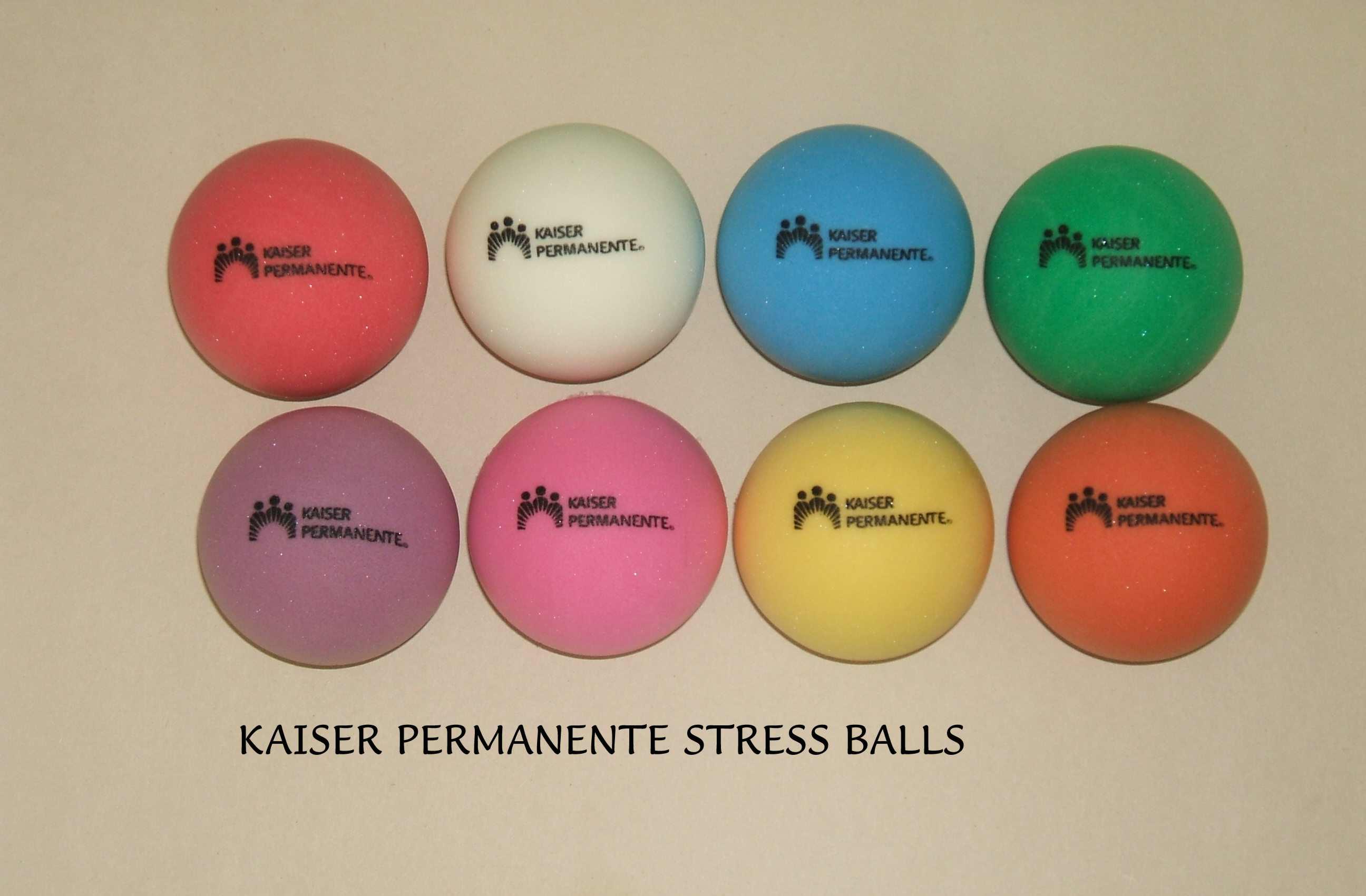 Kaiser Marketing, Kaiser Promotion, Kaiser Permanente Marketing, Free Kaiser Stress Balls
